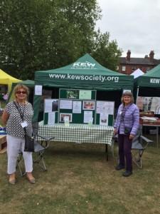 Kew Society stall 2015