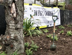 Kew Gardesn station planting Caroline Blomfield 242